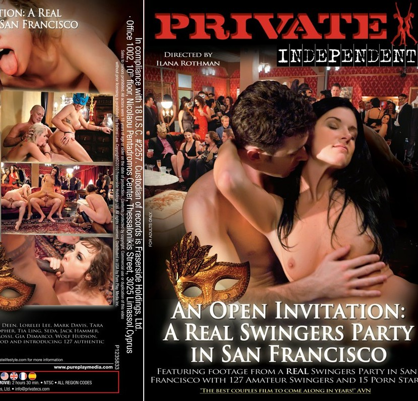 20+ Private Independent 2 An Open Invitation A Real Swingers Party in San Francisco XXX