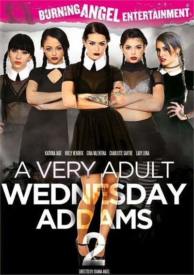 A Very Adult Wednesday Addams 2 2017